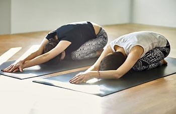 yoga asana child's pose